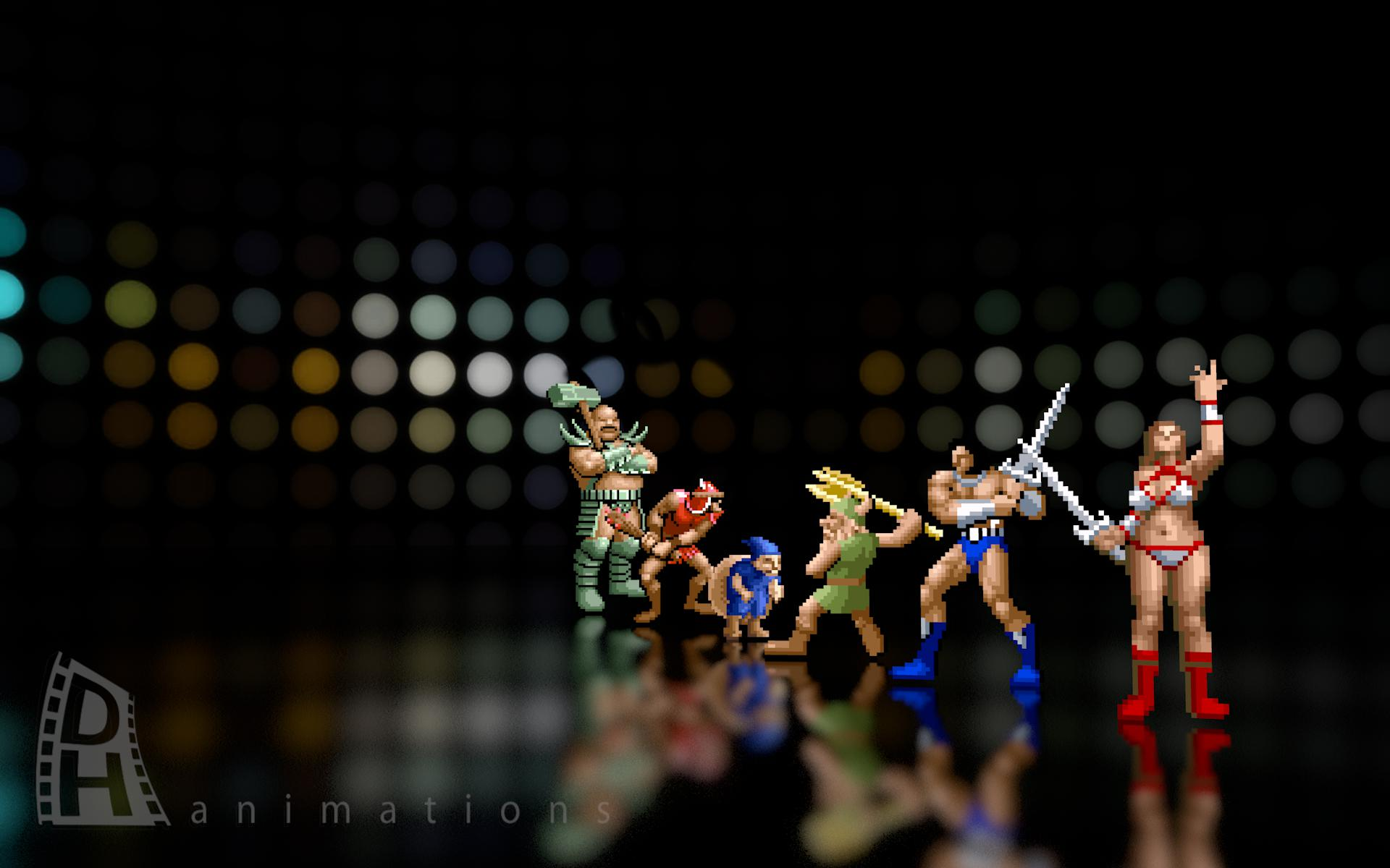Golden Axe How Games Used To Look