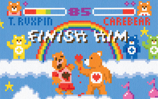 8-bit-pixel-art-care-bears