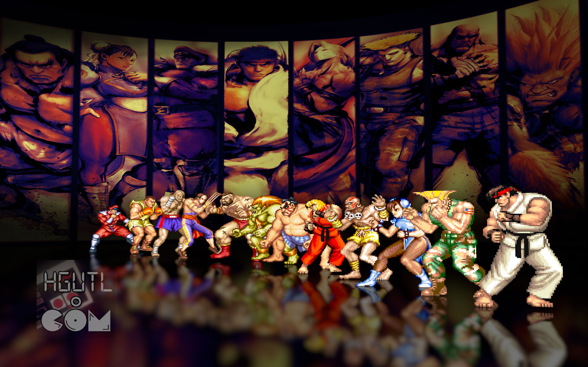 Street fighter 2 how games used to look - Street fighter 2 wallpaper hd ...