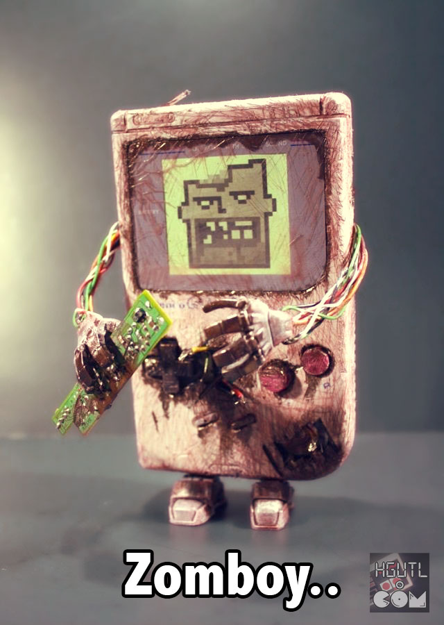 zomboy - zombie gameboy