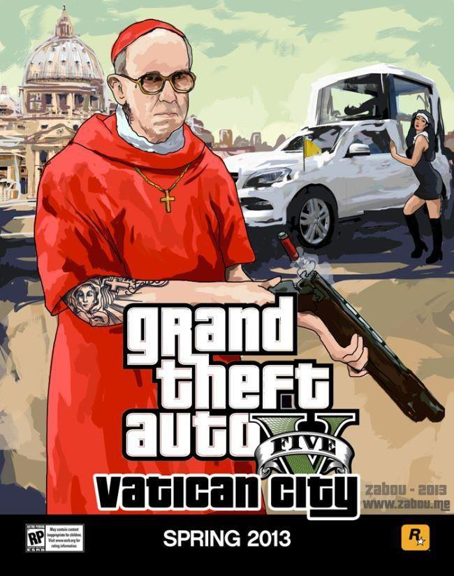 grand theft auto 5 pope edition