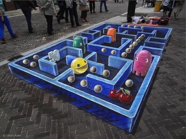 don't pac it in - street art