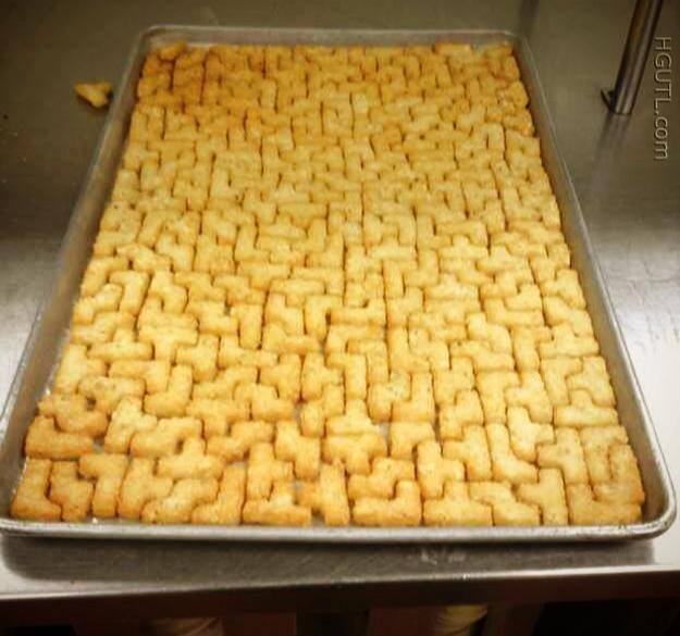 tetris cooking
